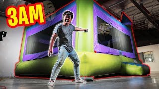 Download 3AM Trapped in a $100,000 BOUNCY HOUSE! Video