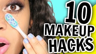 Download 10 Makeup HACKS You've NEVER Seen Before!! Video