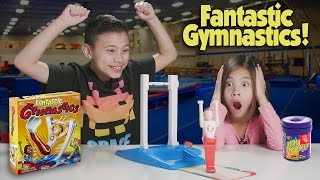 Download FANTASTIC GYMNASTICS CHALLENGE!!! Loser Gets Bean Boozled! Video