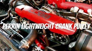 Download 2017 Subaru STi - Perrin Lightweight Crank Pulley Video