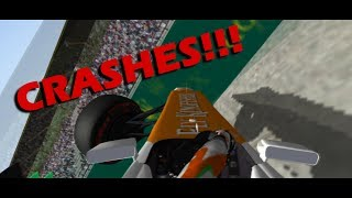 Download Rfactor f1 2012 Crashes Compilations Video
