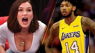 Download Bella Hadid Goes CRAZY Supporting Her New Boyfriend's Basketball Team Video