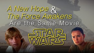 Download Star Wars: A New Hope & The Force Awakens Are the Same Movie SPOILERS [J. Matthew Movies, Ep 6] Video