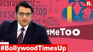 Download Bollywood Struck By 'Me Too' Campaign | The Debate With Arnab Goswami Video