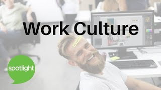 Download ″Work Culture″ - practice English with Spotlight Video
