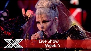 Download Saara Aalto goes Gaga with Bad Romance | Live Shows Week 4 | The X Factor UK 2016 Video