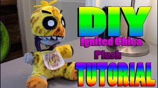 Download DIY Ignited Chica Plush Tutorial!!! Video