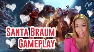 Download Santa Braum Gameplay | I don't want to be in a Redmercy Camille video | League of Legends Video