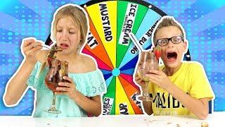 Download MYSTERY WHEEL OF ICE CREAM SUNDAE CHALLENGE!! Video