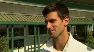 Download Novak Djokovic takes the Wimbledon fan quiz Video