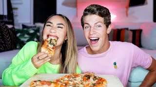 Download VEGAN PIZZA MUKBANG AND Q&A WITH BEN! | MyLifeAsEva Video