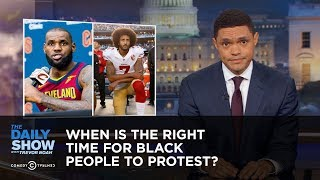 Download When Is the Right Time for Black People to Protest?: The Daily Show Video