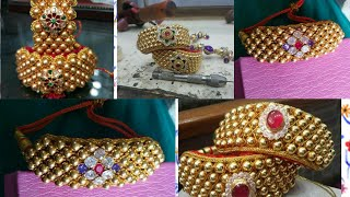 Download Rajputi punchi design | gold jewellery punchi | Rajputi jewellery punchi | maa jewellers ||| Video