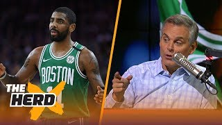 Download Colin talks Kyrie becoming a flake, LeBron's impact on LaVar Ball in Los Angeles   NBA   THE HERD Video