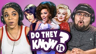 Download DO COLLEGE KIDS KNOW MOVIE MUSICALS? (REACT: Do They Know It?) Video