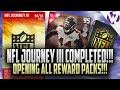 Download Madden 16 NFL JOURNEY 3 COMPLETED!!! OPENING ALL REWARD PACKS + 95 VIC BEASLEY Video