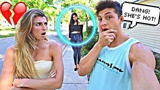 Download CHECKING OUT OTHER GIRLS IN FRONT OF MY GIRLFRIEND!! *BAD IDEA* Video
