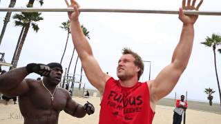 Download MUSCLE UPS | Kali Muscle + Furious Pete + Big J Video