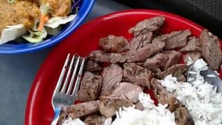 Download Cheap Steak, Salad and Rice Brunch (V350) - Minimalist Van Dweller Vanlife Living In A Van RV Video