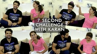 Download Karan Kundra And Anusha Dandekar's 7 Second Challenge | Anusha Dandekar Video
