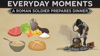 Download Everyday Moments in History - A Roman Soldier Prepares Dinner Video