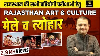 Download मेले एवं त्योहार    Rajasthan Arts & Culture    Part-1    By Nirmal Gehlot Video