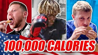 Download SIDEMEN 100,000 CALORIES IN 24 HOURS CHALLENGE (USA EDITION) Video