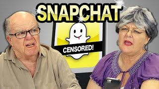 Download ELDERS REACT TO SNAPCHAT Video
