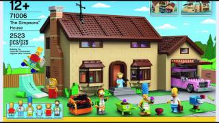 Download Klemmbaustein-News: Lego The Simpsons House (Set 71006) Video