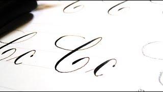 Download Serie caligrafia copperplate ¿cómo escribir la letra ″C″? Paso a paso Video
