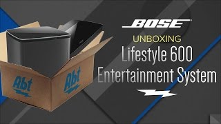 Download Unboxing: Bose Lifestyle 600 Home Entertainment System - 761682-1110 Video