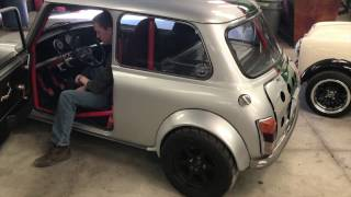 Download Classic Mini Super Cooper Type S 300hp Vtec V6 acceleration and exhaust test Video