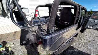 Download RCR: How to remove hard top and install softtop on a 2003 TJ Wrangler Video
