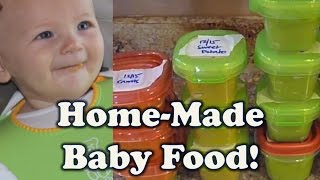 Download How to make baby food: BULK COOKING (stage 1 vegetables) Video