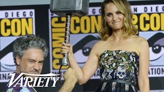 Download Official Marvel Comic Con Panel in Hall H Highlights Video