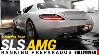 Download Mercedes-Benz SLS AMG, V8 6.2 aspiradão, no Ranking Preparados FULLPOWER Video
