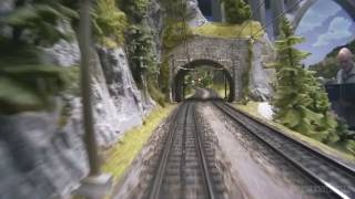 Download Cab ride on Mr. Porsche 's very large model train layout Video