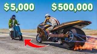 Download $5,000 Bike VS $500,000 Bike In GTA 5! Video