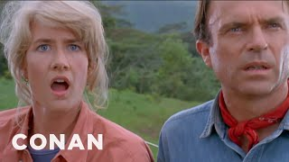 "Download Jeff Goldblum's Iconic ""Jurassic Park"" Scene - CONAN on TBS Video"