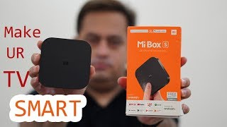 Download Xiaomi Mi Box S Android 8.1 Box that makes TV smart and smart TV Smarter Video