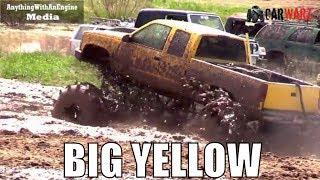 Download BIG YELLOW Chevy Mega Truck At Country Boys Mud Bog 2018 Video