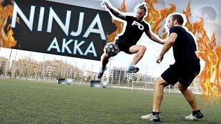 Download FUTBOL NINJA AKKA - Trucos de Fútbol, Videos y goles (Tutoriales Freestyle Football skills) Video