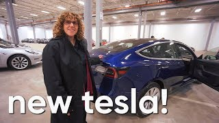Download We got our new TESLA model 3!!! Was it worth the wait?? Video