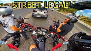 Download 2 STREET LEGAL SSR PIT BIKES!! Video