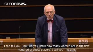 Download Polish MEP launches sexist tirade in EU Parliament Video