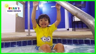 Download There's a Hot Pool in our Hotel!!! Video
