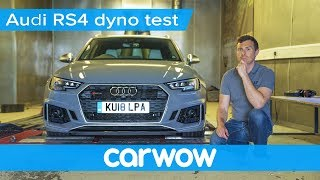 Download Audi RS4 dyno test - how much power does it actually have? | Mat Vlogs Video