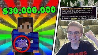 Download UNLOCKING THE RARE $30,000,000 HEROIC RANK! | Minecraft FACTIONS #5 | CosmicPVP Monster Planet Video
