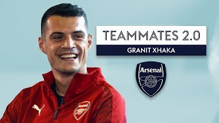 Download Who is the best player Xhaka has EVER played with?! | Arsenal Teammates 2.0 Video
