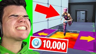 Download FINISH This DEATHRUN To WIN 10,000 V-Bucks! (Fortnite Challenge) Video